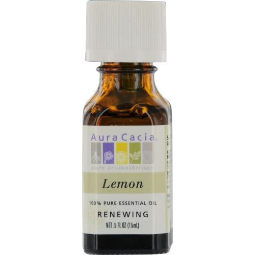 Essential Oils Aura Cacia Lemon-essential Oil .5 Oz By Aura Cacia