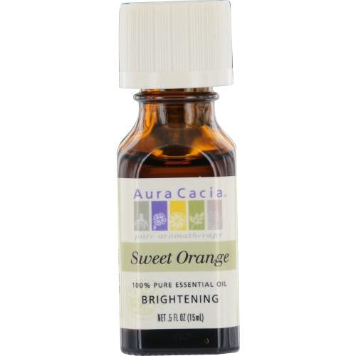 Essential Oils Aura Cacia Sweet Orange-essential Oil .5 Oz By Aura Cacia