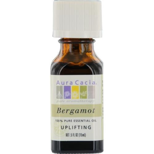 Essential Oils Aura Cacia Bergamot-essential Oil .5 Oz By Aura Cacia