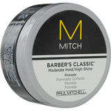 Mitch Barber's Classic Moderate Hold-high Shine Pomade 3 Oz