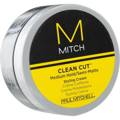 Mitch Clean Cut Medium Hold-semi-matte Styling Cream 3 Oz