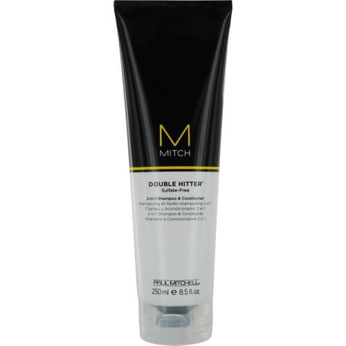 Mitch Double Hitter Sulfate Free 2-in1 Shampoo & Conditioner 8.5 Oz