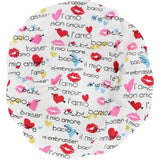 Spa Accessories Bouffant Shower Cap - Love By Spa Accessories