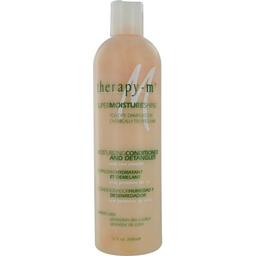 Therapy- M Supermoistureshine For Dry, Damaged Or Chemically Treated Hair Moisturizing Conditioner And Detangler 12 Oz