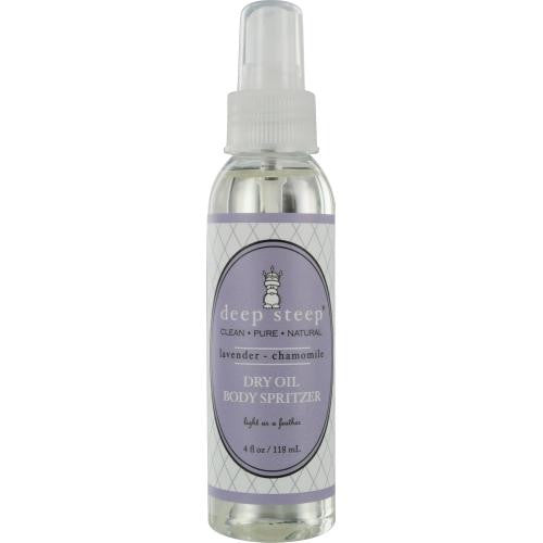 Deep Steep Lavender-chamomile Dry Oil Spritzer 4 Oz By Deep Steep