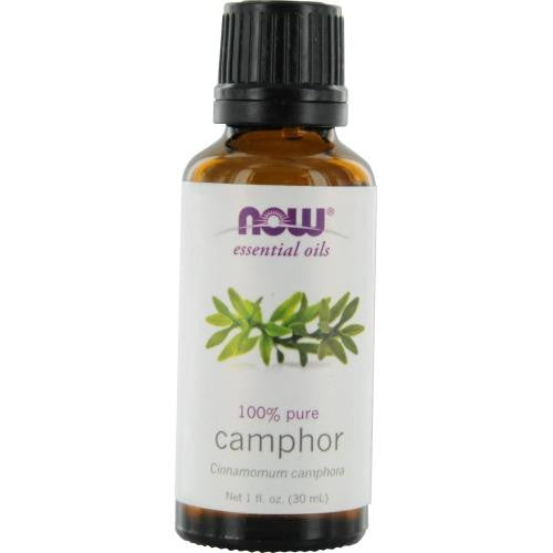 Essential Oils Now Camphor Oil, White 1 Oz By Now Essential Oils