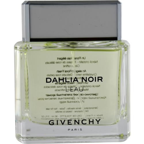Givenchy Dahlia Noir L'eau By Givenchy Edt Spray 3 Oz *tester