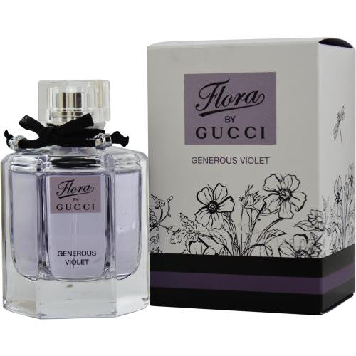 Gucci Flora Generous Violet By Gucci Edt Spray 1.7 Oz