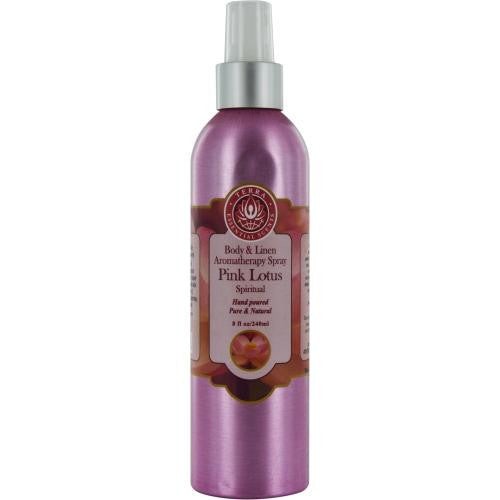 Room & Linen Pink Lotus Spiritual Aromatherapy Spray 8 Oz By