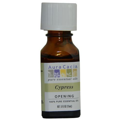 Essential Oils Aura Cacia Cypress-essential Oil .5 Oz By Aura Cacia