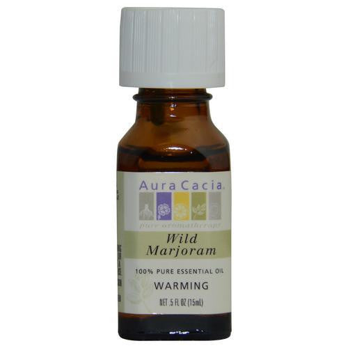 Essential Oils Aura Cacia Wild Marjoram-essential Oil .5 Oz By Aura Cacia
