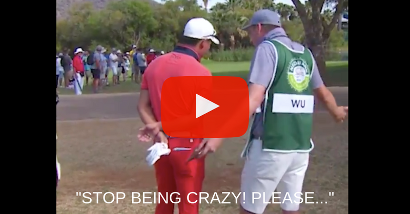 The Best Player and Caddie Conversation You Will Ever See
