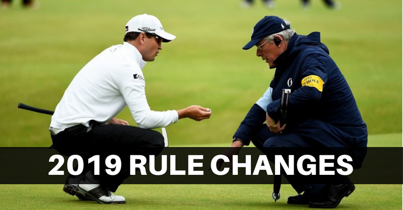 20 Most Important Changes To The Rules Of Golf 2019