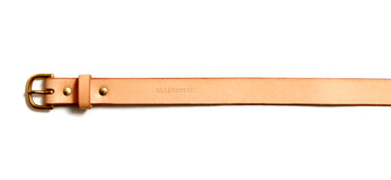 Leather belt: TRINE (natural)