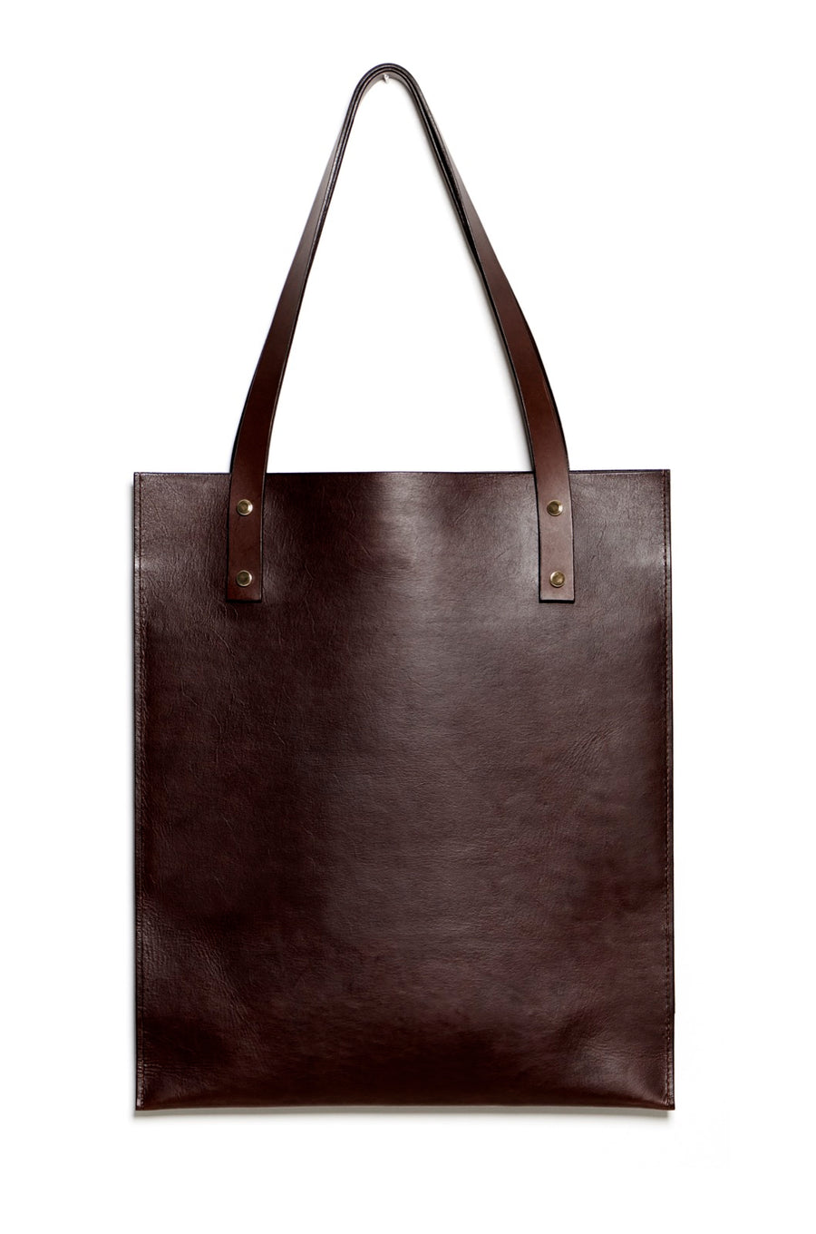 HEBERT tote (dark brown)