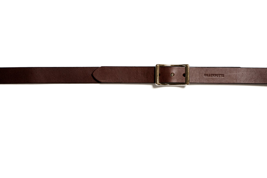 LAURITS belt (dark brown)