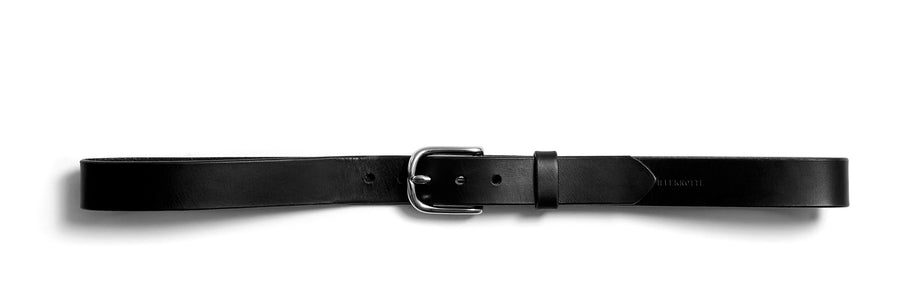 Leather belt: ALEXANDER (black)