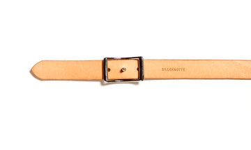 Leather belt: LAURITS (natural)