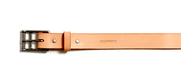 Leather belt: GORM (natural)