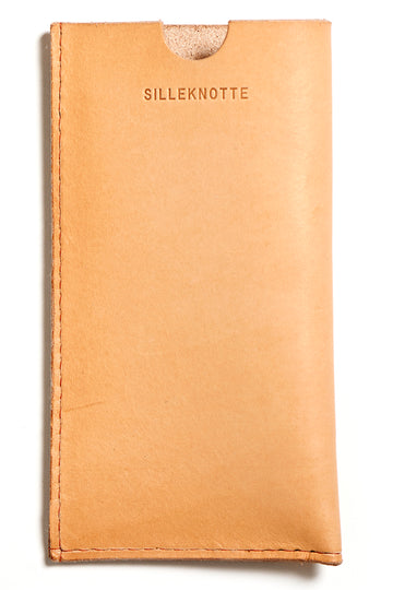Leather iPhone cover: ANDY (natural)