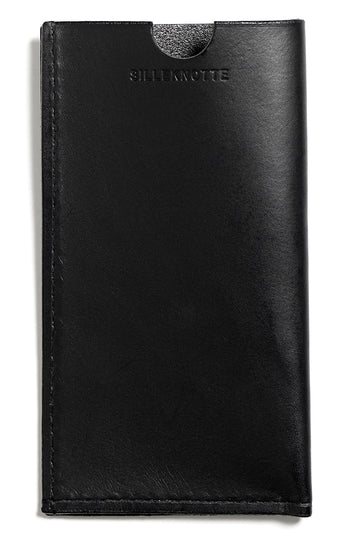Leather iPhone cover: ANDY (black)