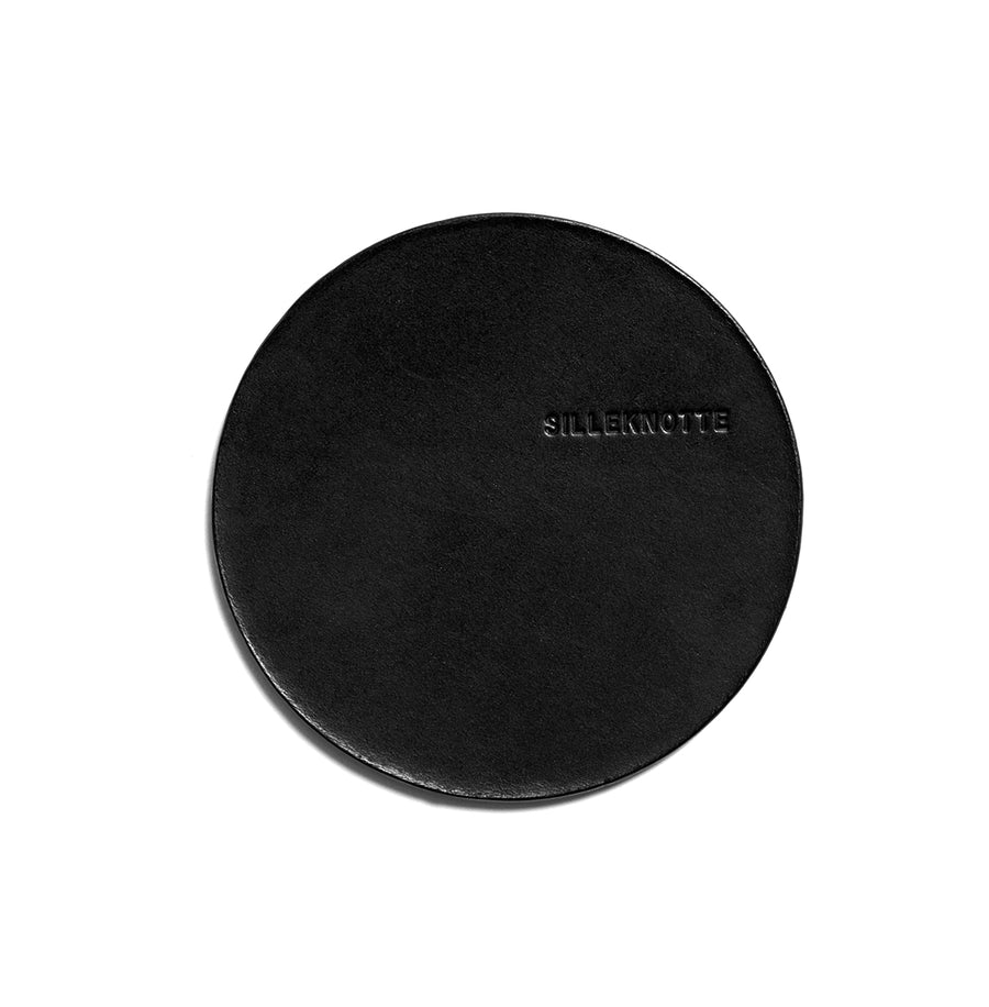 VINO small coaster (black) - set of 4