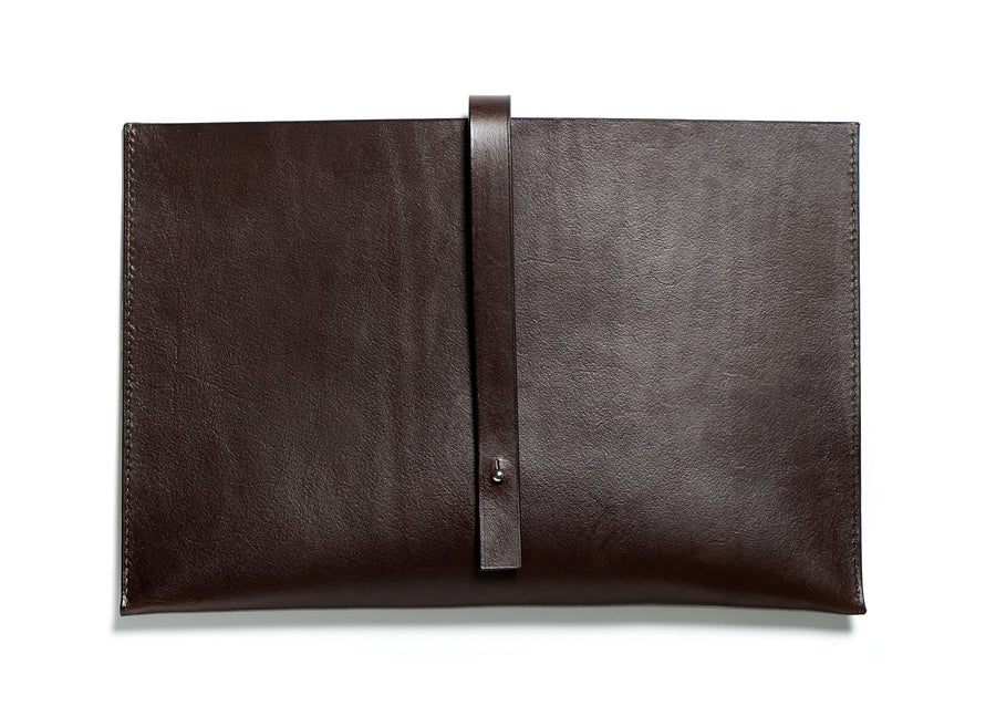 SIXTEN computer sleeve (dark brown)