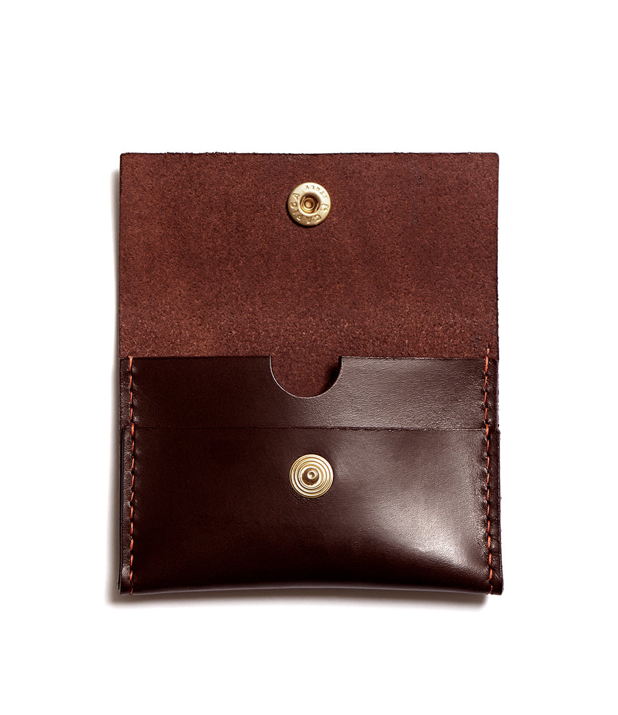 GRANT wallet (dark brown)