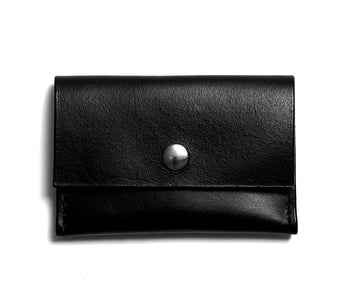 Leather wallet: GRANT (black)