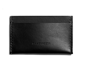 Leather cardholder: MICKEY (black)