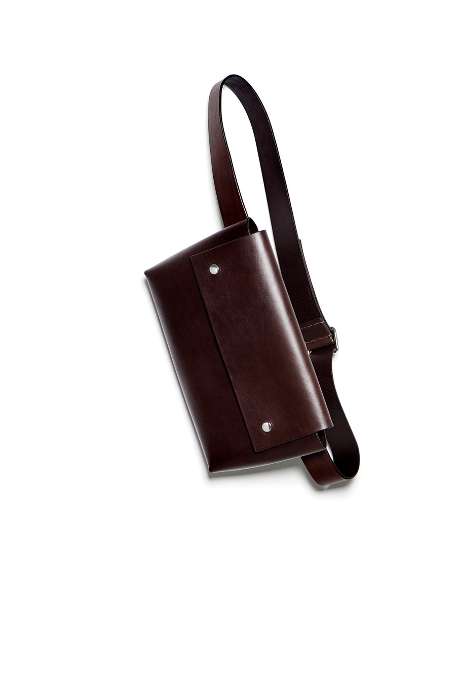 PETRINE bumbag (dark brown)