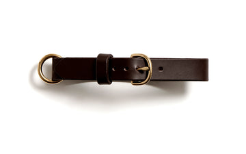 MESTER dog collar (dark brown)