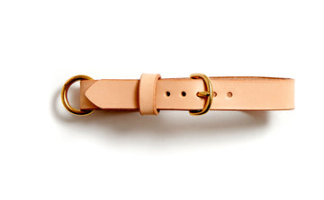 MESTER dog collar (natural)