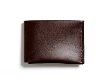 BECH bifold wallet (dark brown)