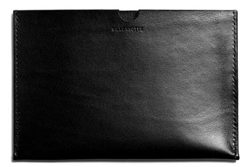 Leather iPad Mini sleeve: KRISTIAN (black)