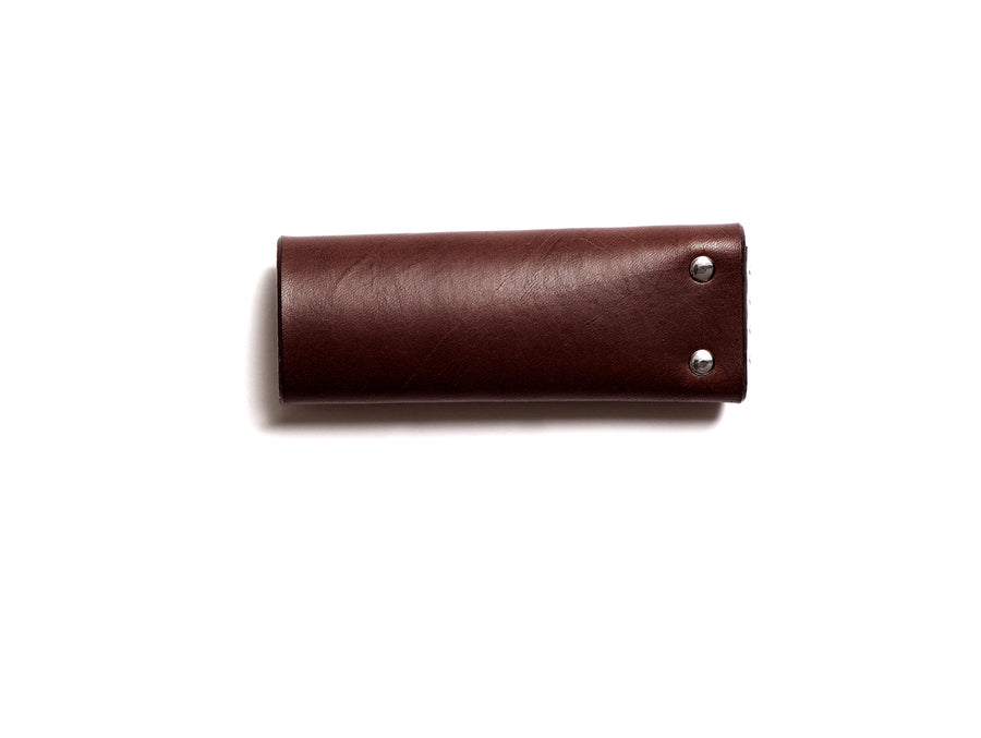 KARL small key pouch (dark brown)