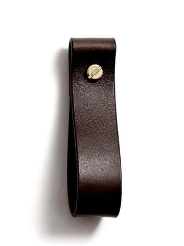 TANYA medium loop strap (dark brown)