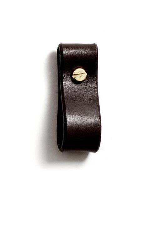 TANYA small loop strap (dark brown)