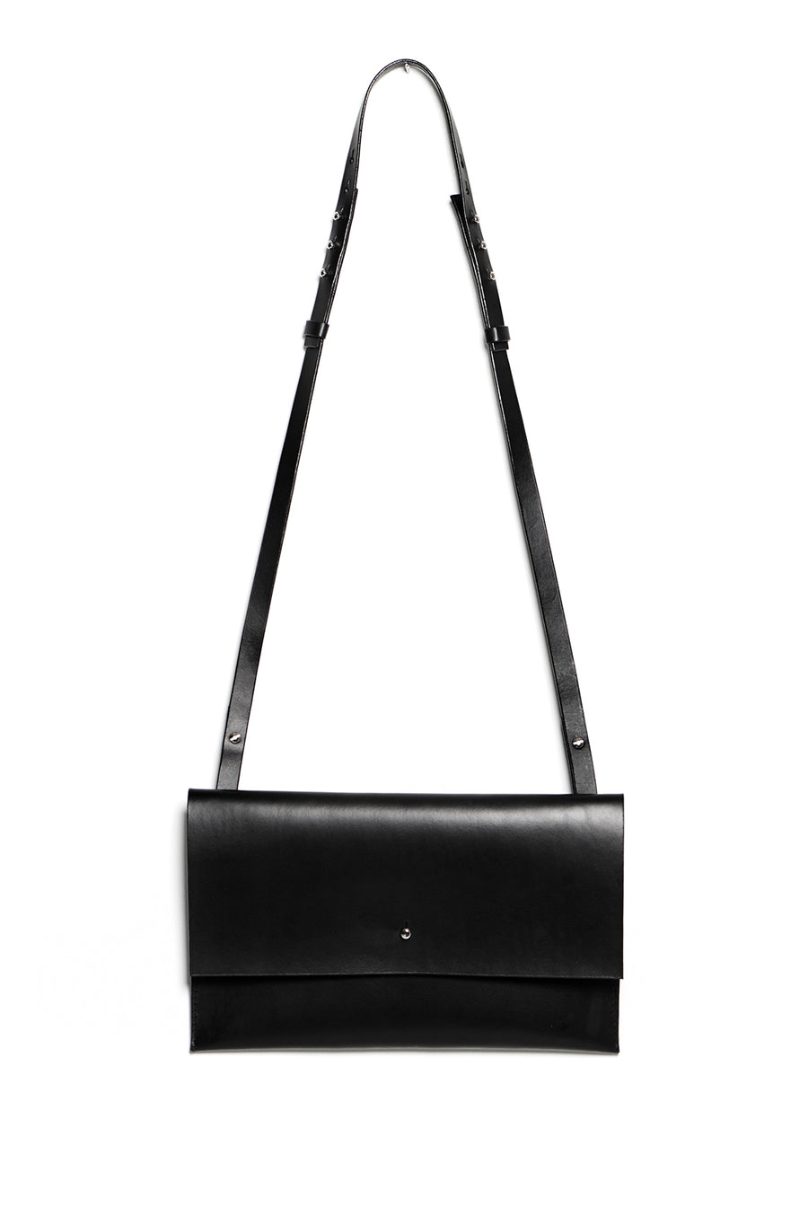 RIGMOR MEGA clutch & shoulder bag (black)