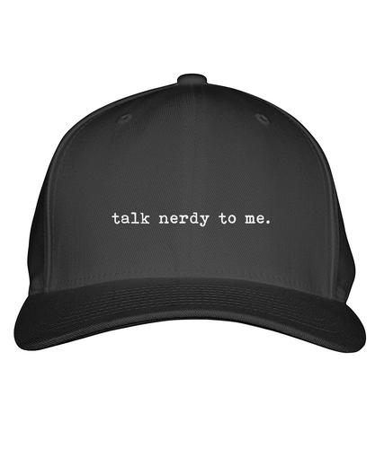 Talk nerdy to me - Cap