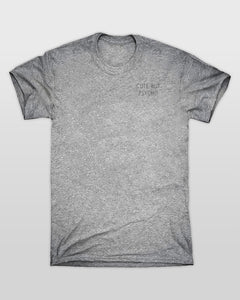 Cute But Psycho Small T-Shirt in Grey