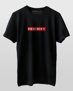 Feminist Red Bar T-Shirt
