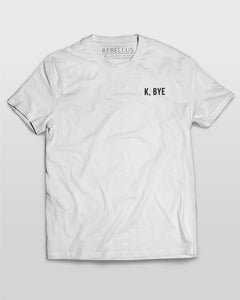 K Bye T-Shirt in White