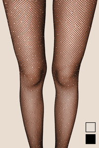 Fishnet Tights - Crystals