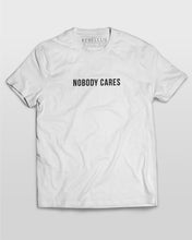 Nobody Cares T-Shirt in White