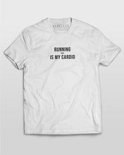 Running Late Is My Cardio T-Shirt in White
