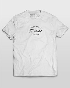 This Is What A Feminist Looks Like T-Shirt in White