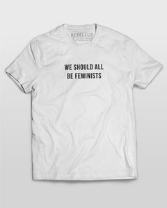 We Should All Be Feminists T-Shirt in White