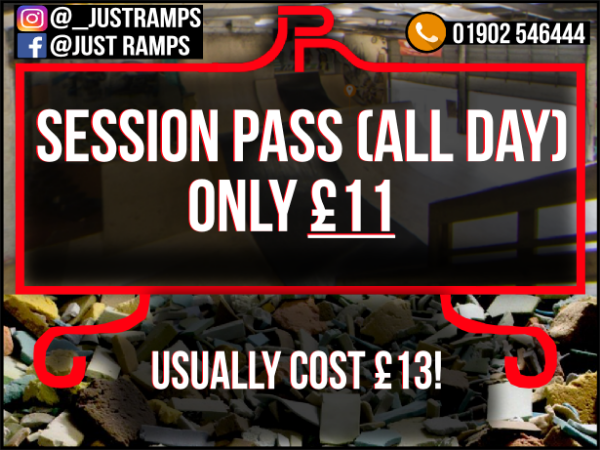 Session Passes (Christmas Offer)
