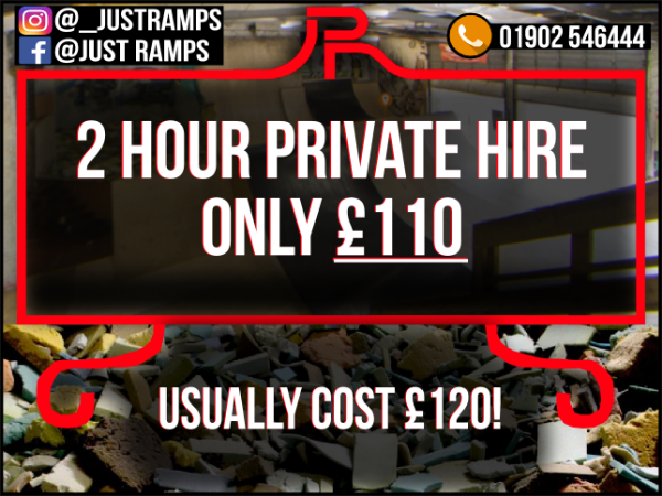 2 Hour Private Hire (Christmas Offer)